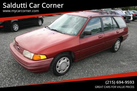 Escort Richmond Va >> 1996 Ford Escort For Sale In Gilbertsville Pa