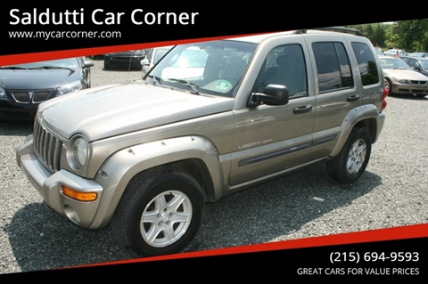 2003 Jeep Liberty for sale in Gilbertsville, PA
