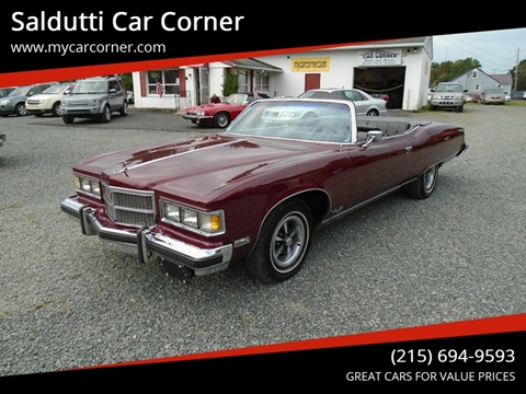 1975 Pontiac Grand Ville for sale in Gilbertsville, PA