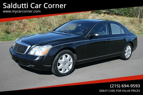 2004 Maybach 57 for sale in Gilbertsville, PA