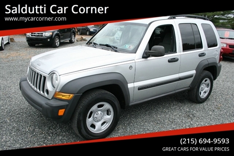 2007 Jeep Liberty for sale in Gilbertsville, PA