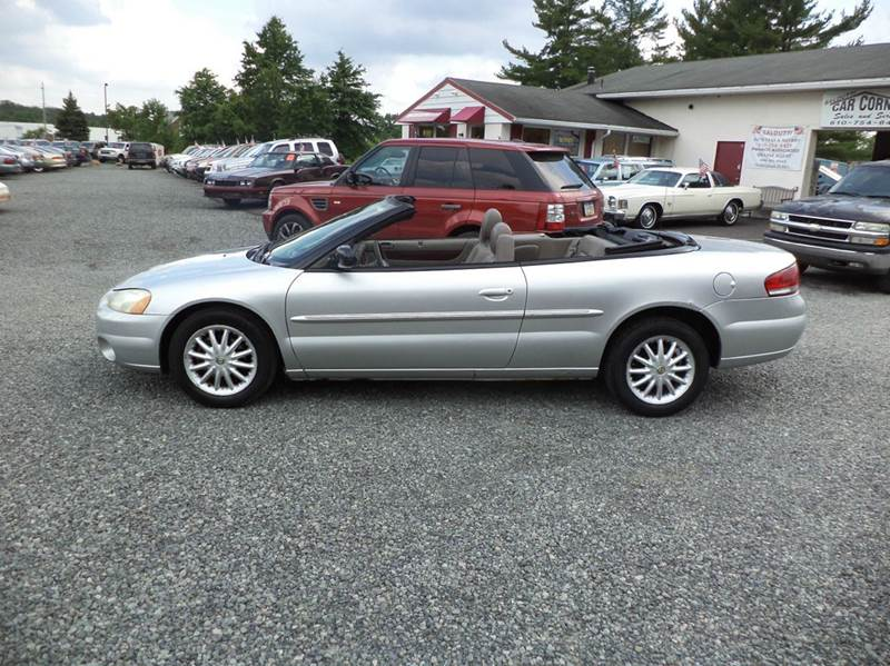 2002 Chrysler Sebring LXi 2dr Convertible In Gilbertsville PA
