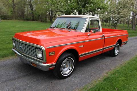 1972 Chevrolet C/K 10 Series for sale in Gilbertsville, PA