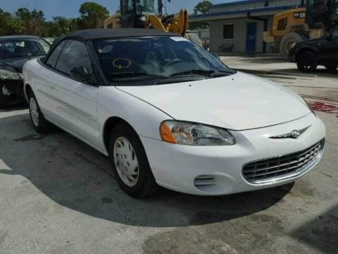 2001 Chrysler Sebring for sale in Jacksonville, FL