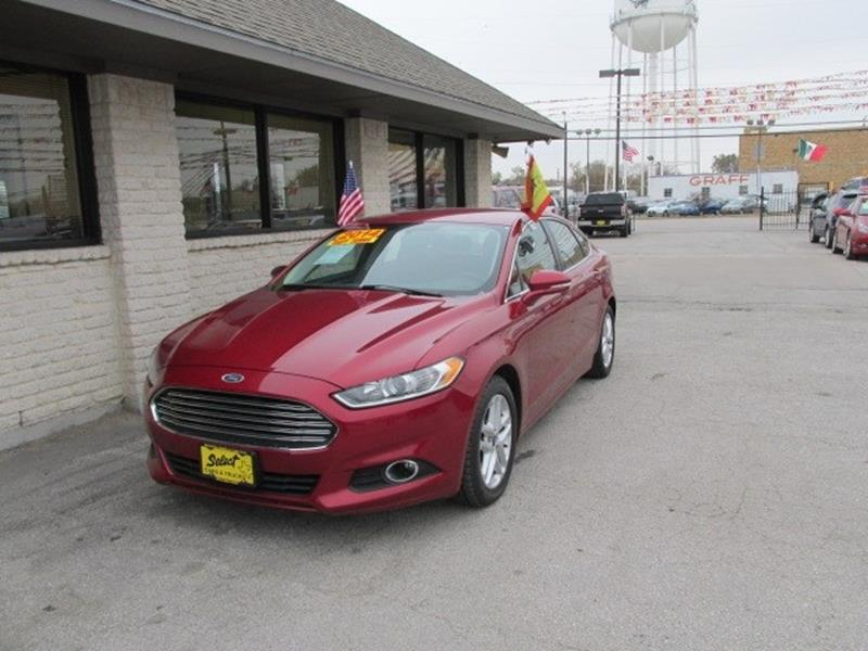2014 Ford Fusion & Ford Used Cars Used Cars For Sale Grand Prairie Select Cars ... markmcfarlin.com