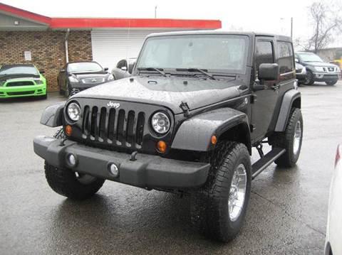 2012 Jeep Wrangler for sale in Nashville, TN