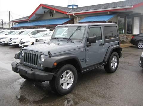 2015 Jeep Wrangler for sale in Nashville, TN