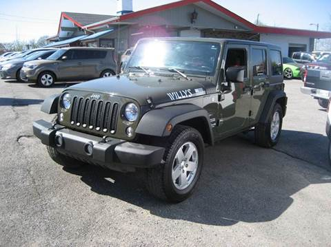 Jeeps For Sale In Tn >> Used Jeep Wrangler For Sale In Nashville Tn Carsforsale Com