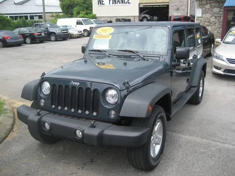 2017 Jeep Wrangler Unlimited for sale in Nashville, TN