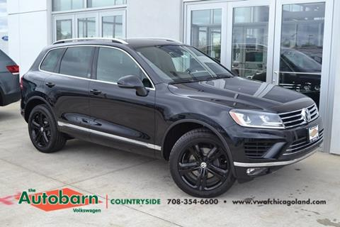 2017 Volkswagen Touareg for sale in Countryside, IL