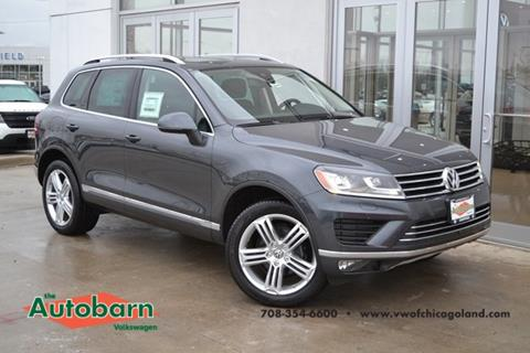 2016 Volkswagen Touareg for sale in Countryside, IL