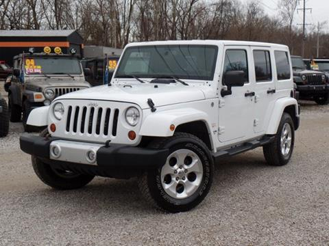 2013 Jeep Wrangler Unlimited for sale in Carroll, OH