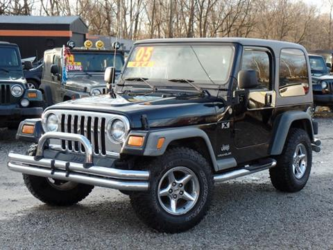 2005 Jeep Wrangler for sale in Carroll, OH