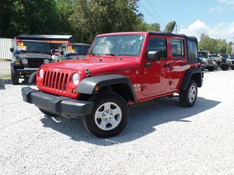 2008 Jeep Wrangler Unlimited for sale in Carroll, OH