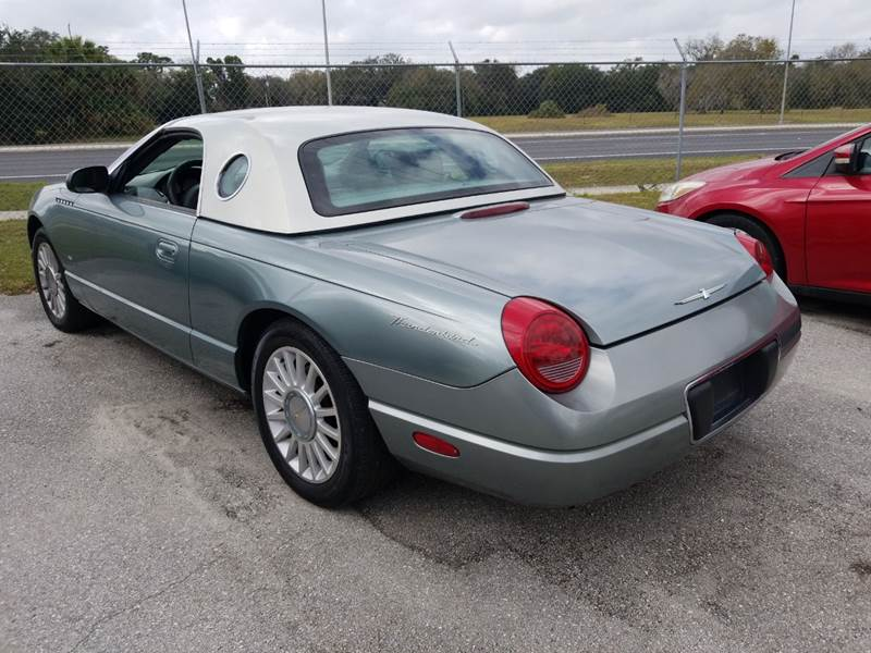 2004 Ford Thunderbird Deluxe 2dr Convertible - Mulberry FL