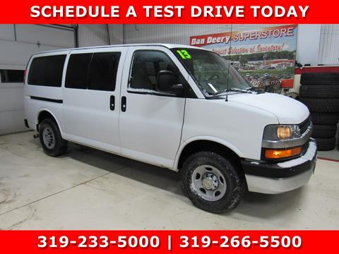 2013 Chevrolet Express Passenger for sale in Cedar Falls, IA