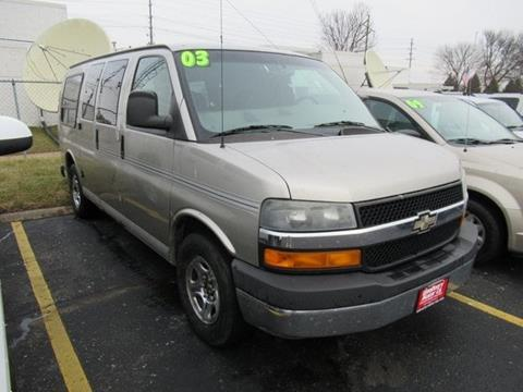 964ba5f7a6 Used 2003 Chevrolet Express Cargo For Sale - Carsforsale.com®