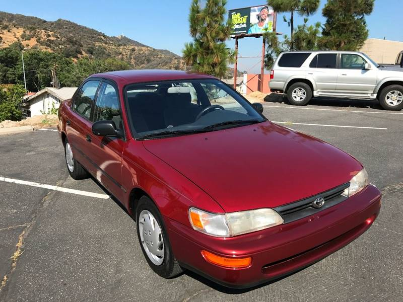 1994 Toyota Corolla for sale at JD MOTORS in Tujunga CA