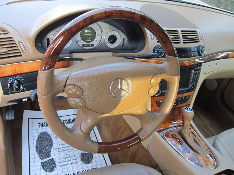 2008 Mercedes-Benz E-Class for sale at JD MOTORS in Tujunga CA