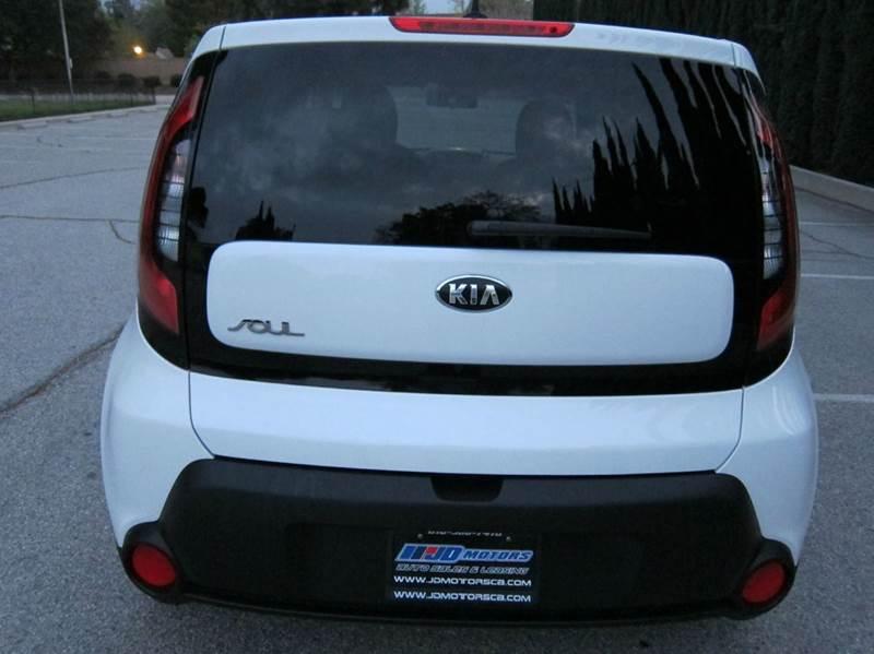 2014 Kia Soul for sale at JD MOTORS in Tujunga CA
