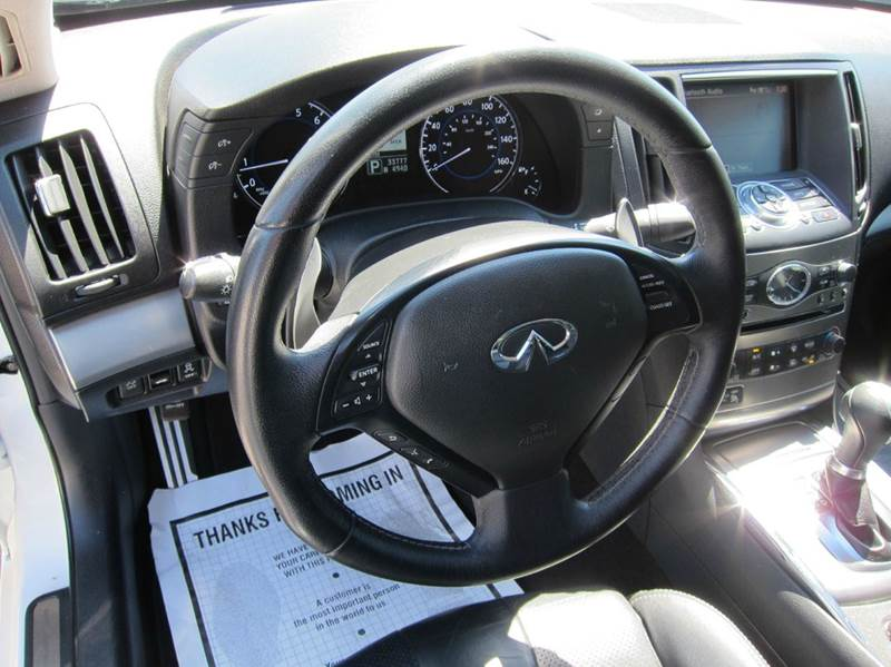 2013 Infiniti G37 Sedan for sale at JD MOTORS in Tujunga CA
