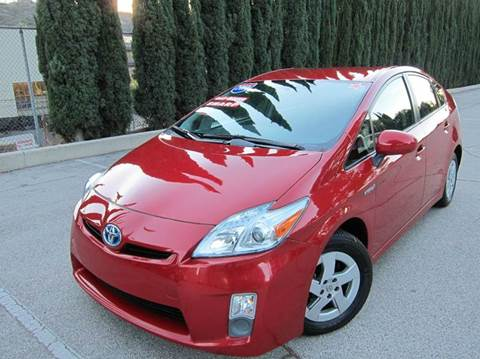 2010 Toyota Prius for sale at JD MOTORS in Tujunga CA