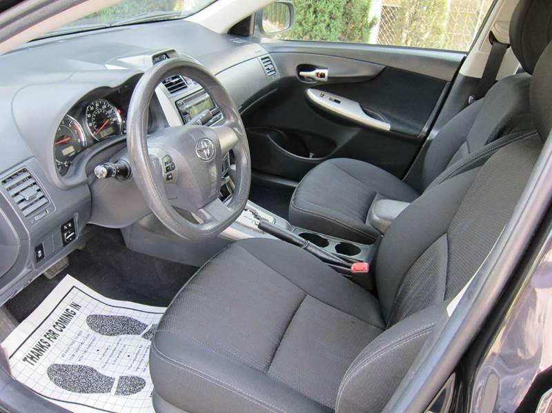 2012 Toyota Corolla for sale at JD MOTORS in Tujunga CA