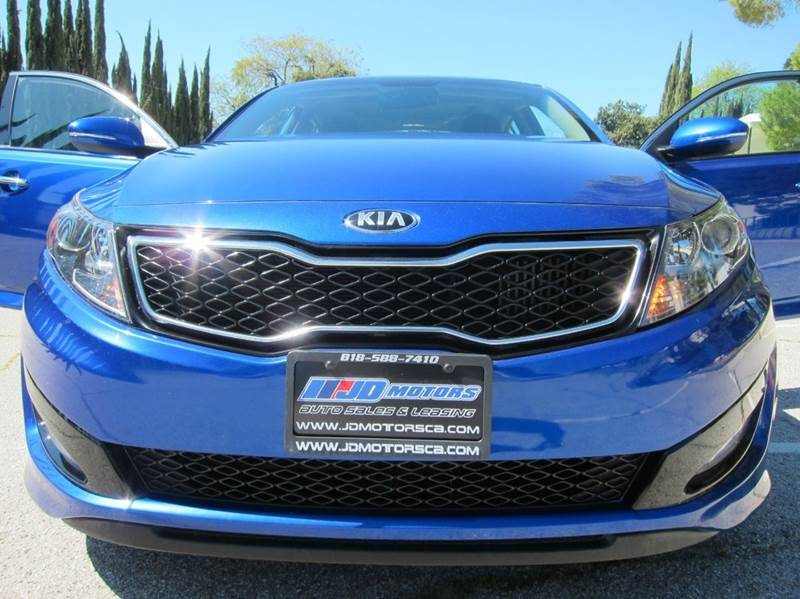 2013 Kia Optima for sale at JD MOTORS in Tujunga CA