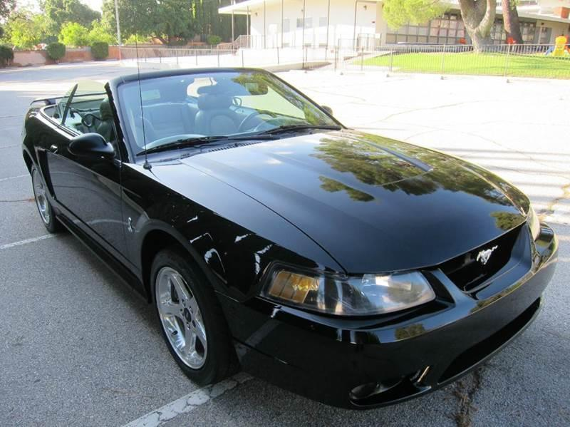 2001 Ford Mustang SVT Cobra for sale at JD MOTORS in Tujunga CA
