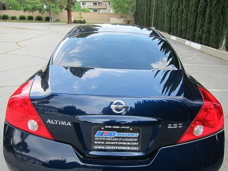 2012 Nissan Altima for sale at JD MOTORS in Tujunga CA