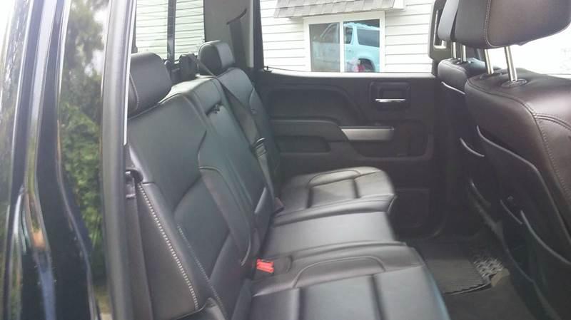 2015 Chevrolet Silverado 2500HD 4x4 LTZ 4dr Crew Cab SB - Lapeer MI