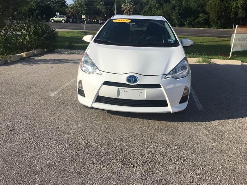 2013 Toyota Prius c for sale at Discount Auto in Austin TX