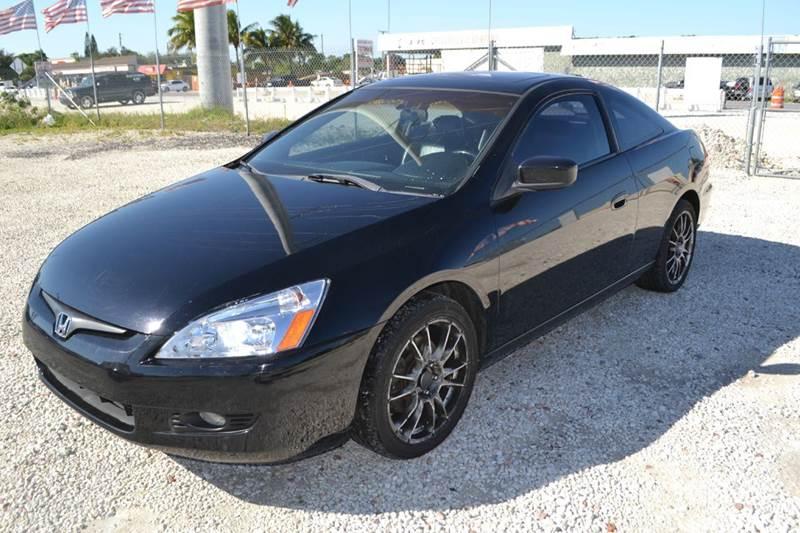 2003 Honda Accord EX V 6 2dr Coupe   West Park FL