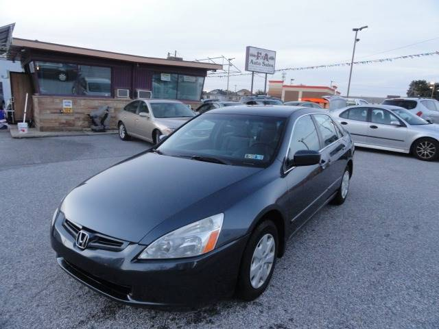 2004 Honda Accord LX 4dr Sedan   York PA