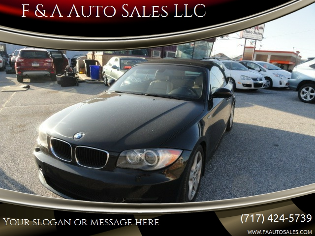 2008 Bmw 1 Series 135i 2dr Convertible In York Pa F Amp A