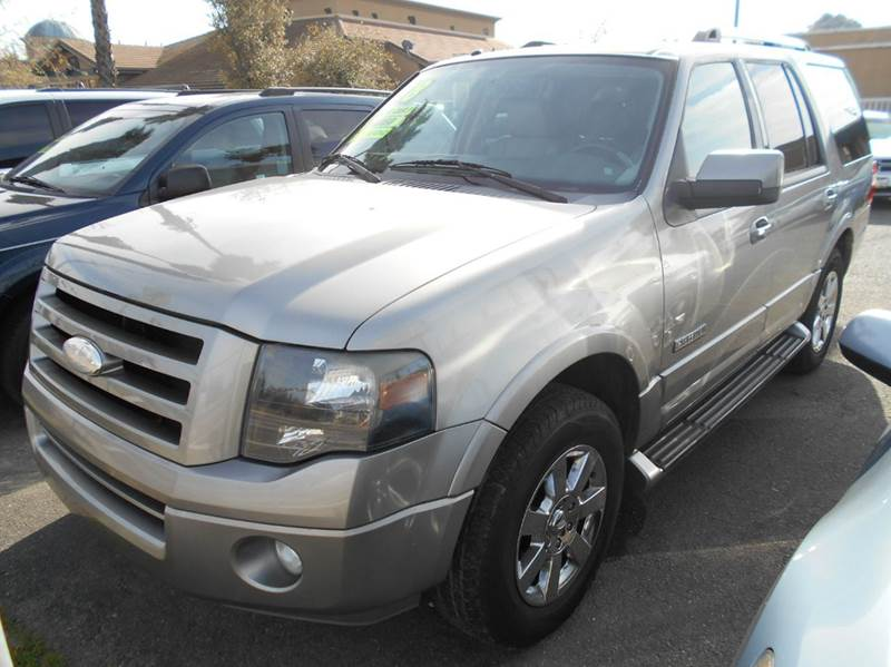 2008 FORD EXPEDITION LIMITED 4X2 4DR SUV gray 2-stage unlocking doors abs - 4-wheel adjustable