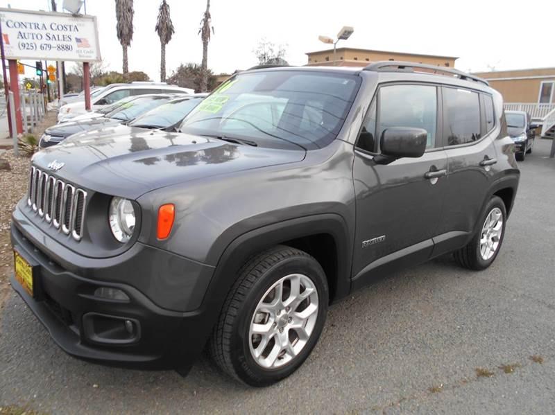 2016 JEEP RENEGADE LATITUDE 4DR SUV gray 2-stage unlocking doors abs - 4-wheel airbag deactivat