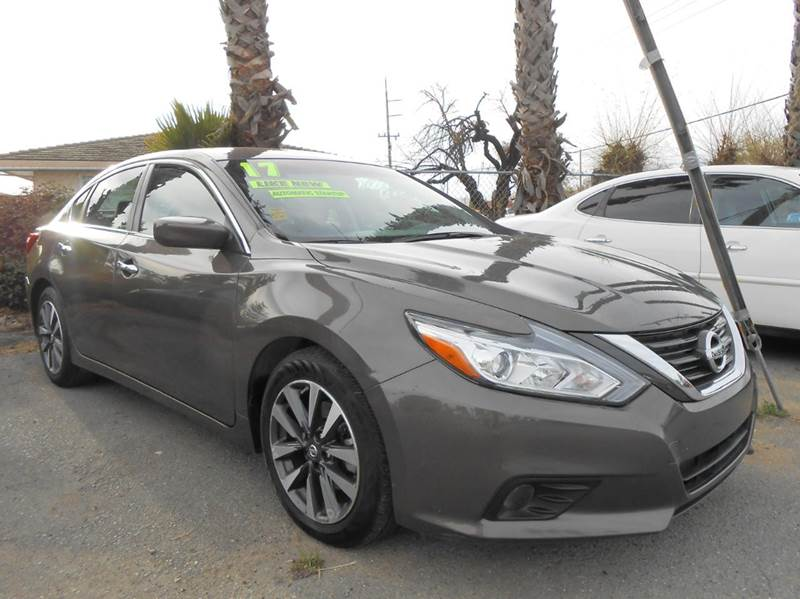 2017 NISSAN ALTIMA 25 SV 4DR SEDAN gray 2-stage unlocking doors abs - 4-wheel active grille sh