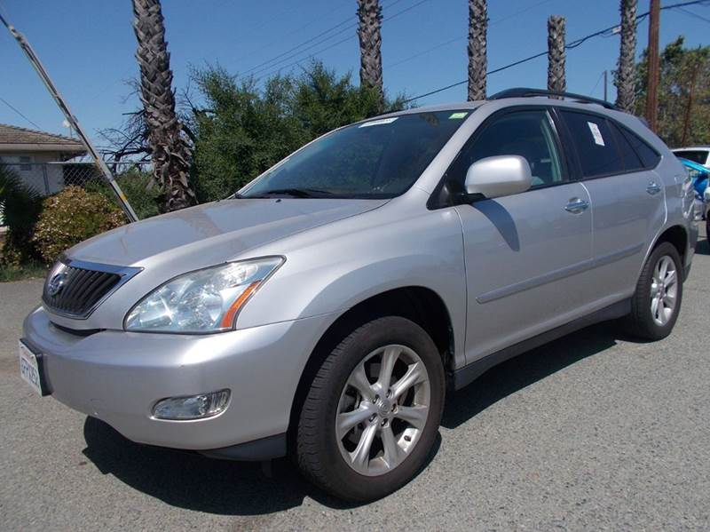 2009 LEXUS RX 350 BASE 4DR SUV silver 2-stage unlocking doors abs - 4-wheel air filtration air