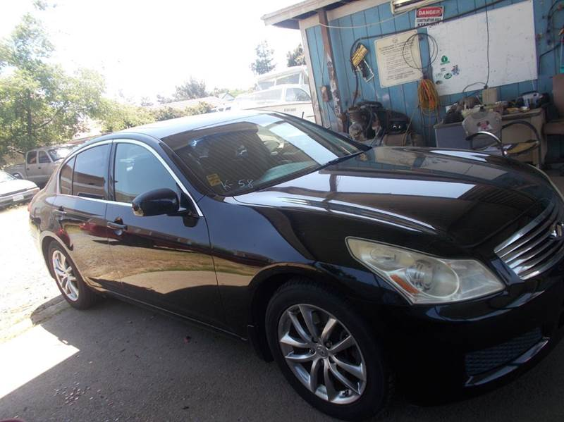 2008 INFINITI G35 X AWD 4DR SEDAN black 2-stage unlocking doors 4wd type - on demand abs - 4-wh