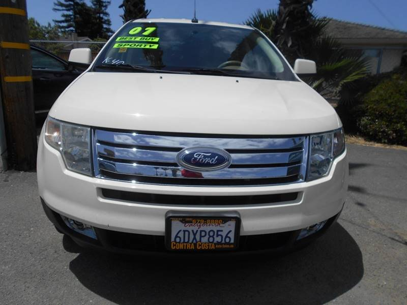 2007 FORD EDGE SEL 4DR CROSSOVER