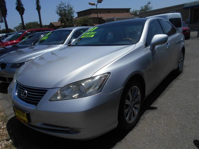 2007 LEXUS ES 350 BASE 4DR SEDAN silver grille color - chrome air filtration armrests - rear ce