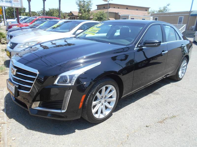 2016 CADILLAC CTS 20T 4DR SEDAN black exhaust - dual tip active grille shutters door handle co