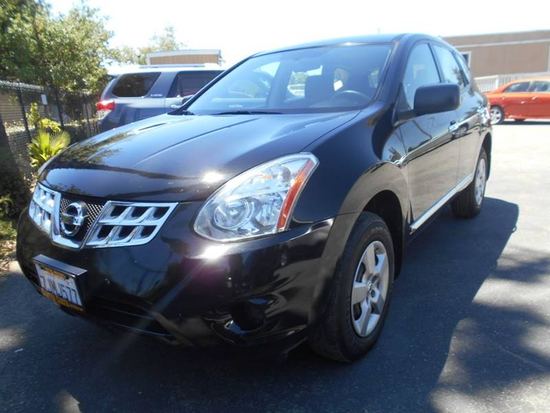 2013 NISSAN ROGUE S AWD 4DR CROSSOVER black rear spoiler - roofline body side moldings - chrome