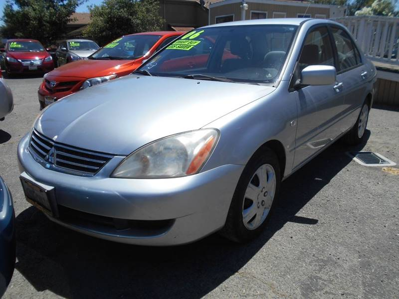 2006 MITSUBISHI LANCER ES 4DR SEDAN WAUTOMATIC silver grille color - chrome air filtration fro