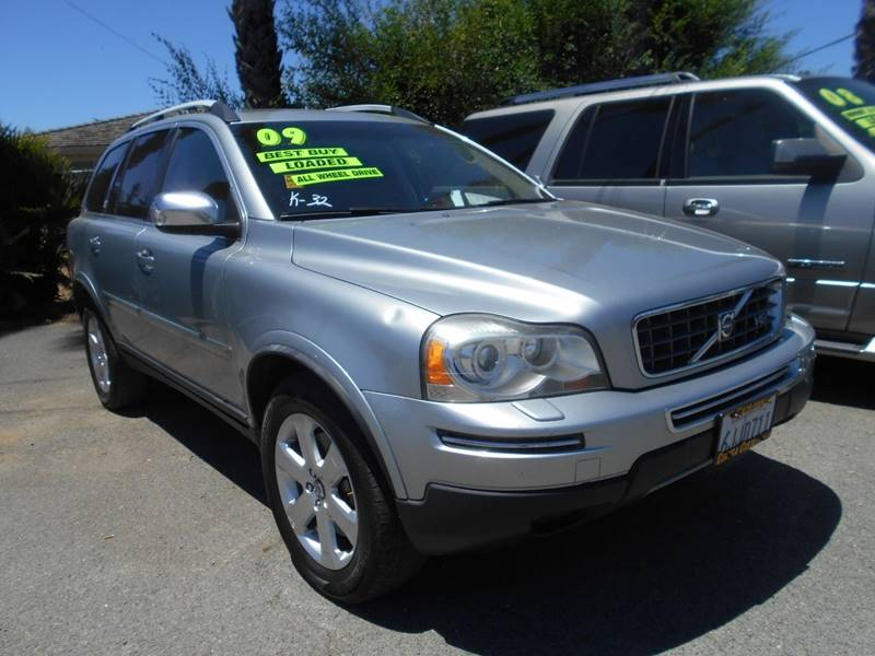 2009 VOLVO XC90 V8 AWD 4DR SUV silver headlight bezel color - silver door handle color - body-co