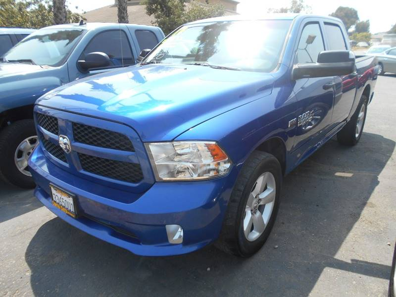 2014 RAM RAM PICKUP 1500 TRADESMAN 4X2 4DR CREW CAB 55 F blue pickup bed light pickup bed liner