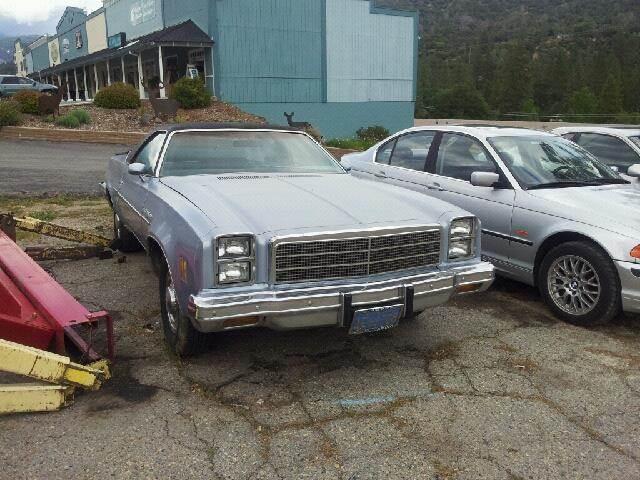 1977 Chevrolet El Camino PICKUP - Oakhurst CA
