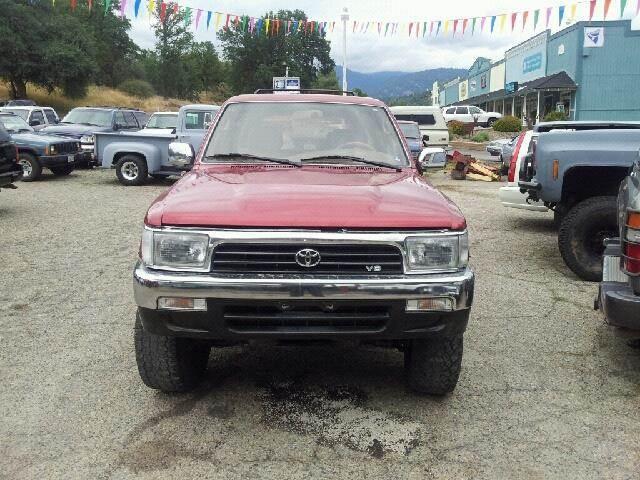1995 Toyota 4Runner VN39 SR5 - Oakhurst CA