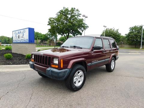 2000 Jeep Cherokee for sale in Plymouth, MI